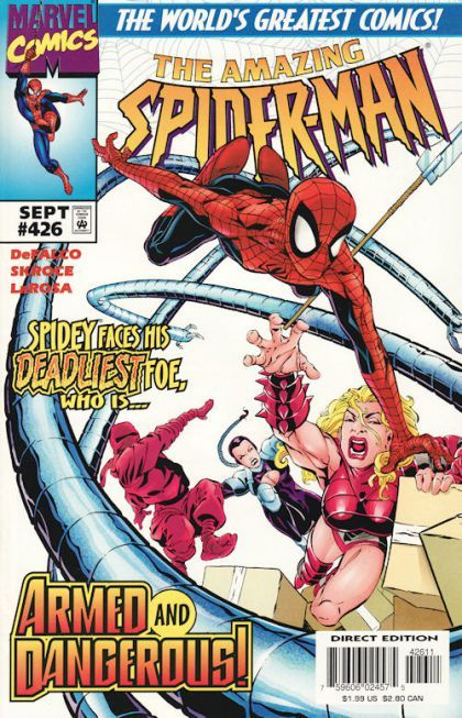 The Amazing Spider-man - 426 cover