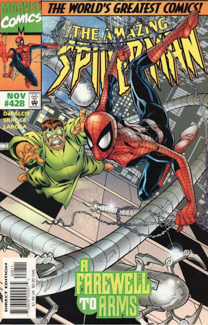The Amazing Spider-man - 428 cover