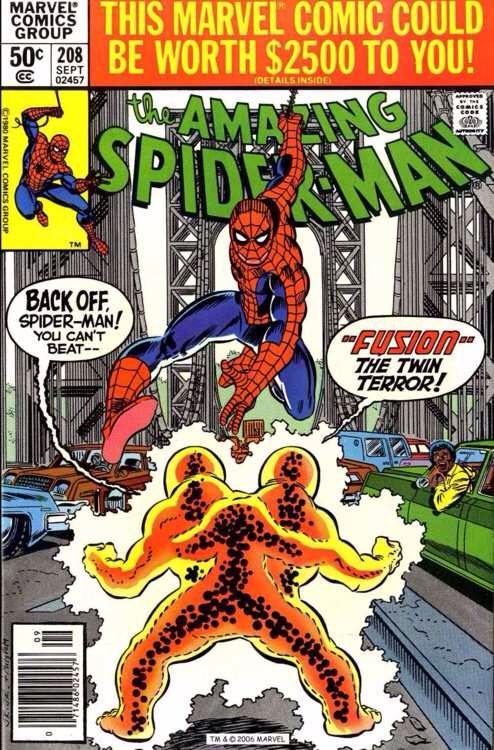 The Amazing Spider-man - 208 cover