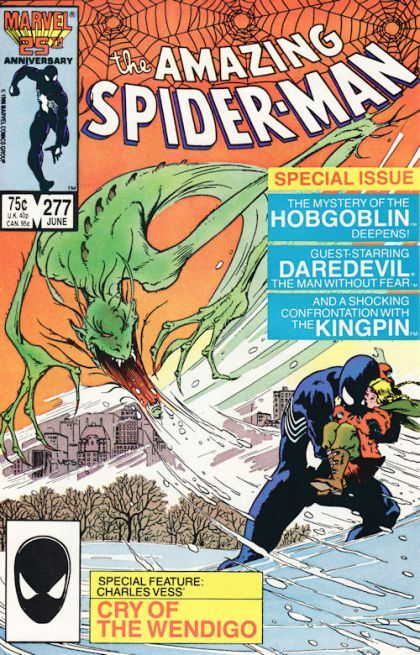 The Amazing Spider-man - 277 cover