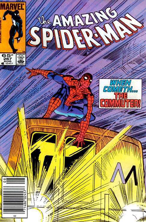 The Amazing Spider-man - 267 cover
