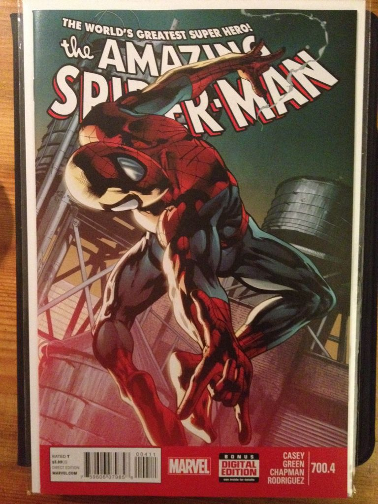 The Amazing Spider-man - 700.4 cover