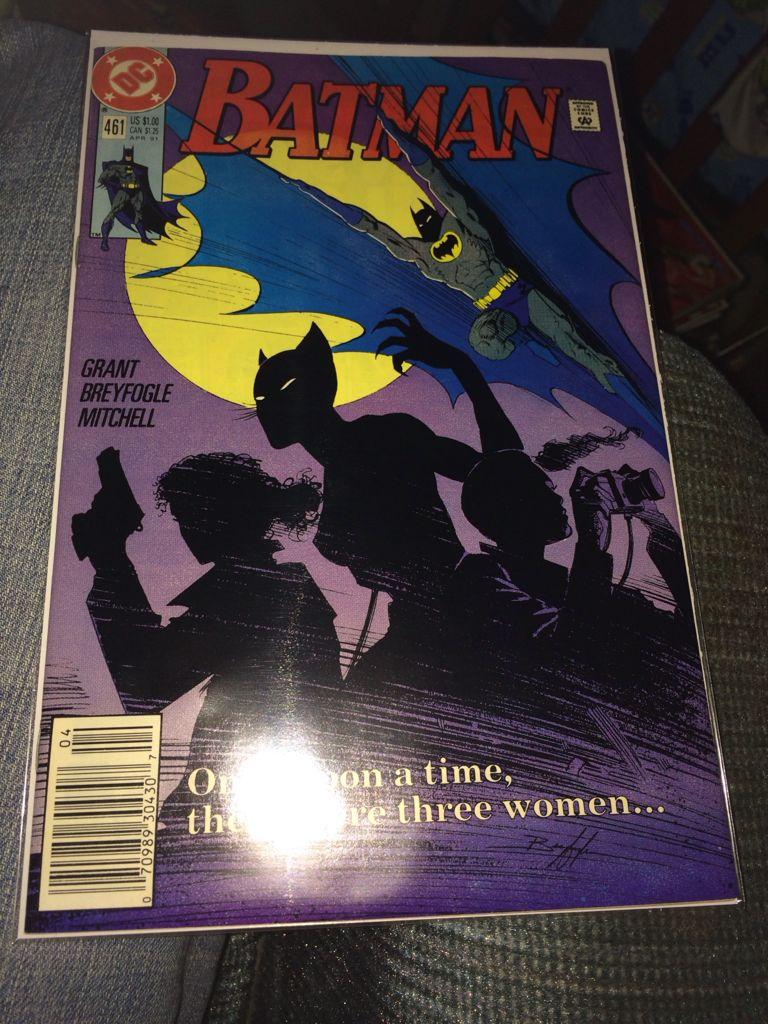 Batman - 461 cover