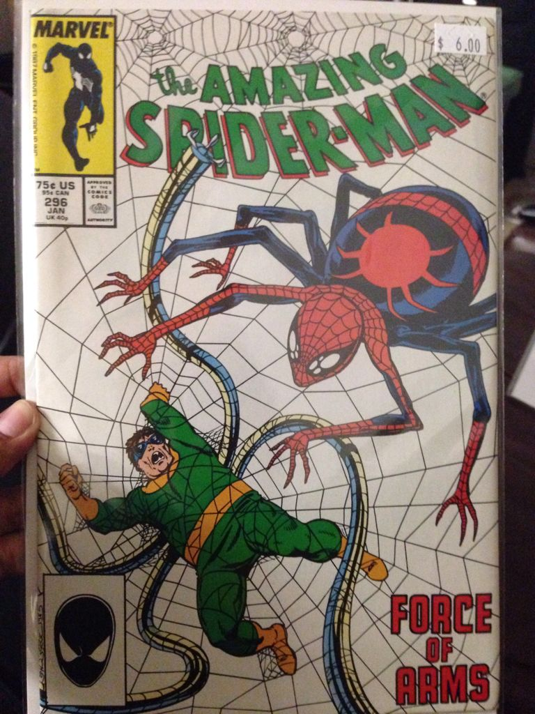 The Amazing Spider-man - 296 cover
