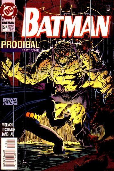 Batman - 512 cover