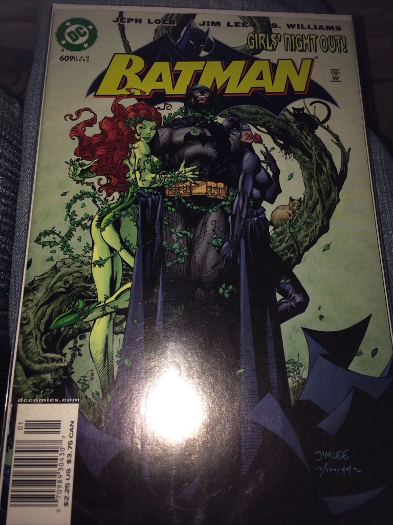 Batman - 609 cover