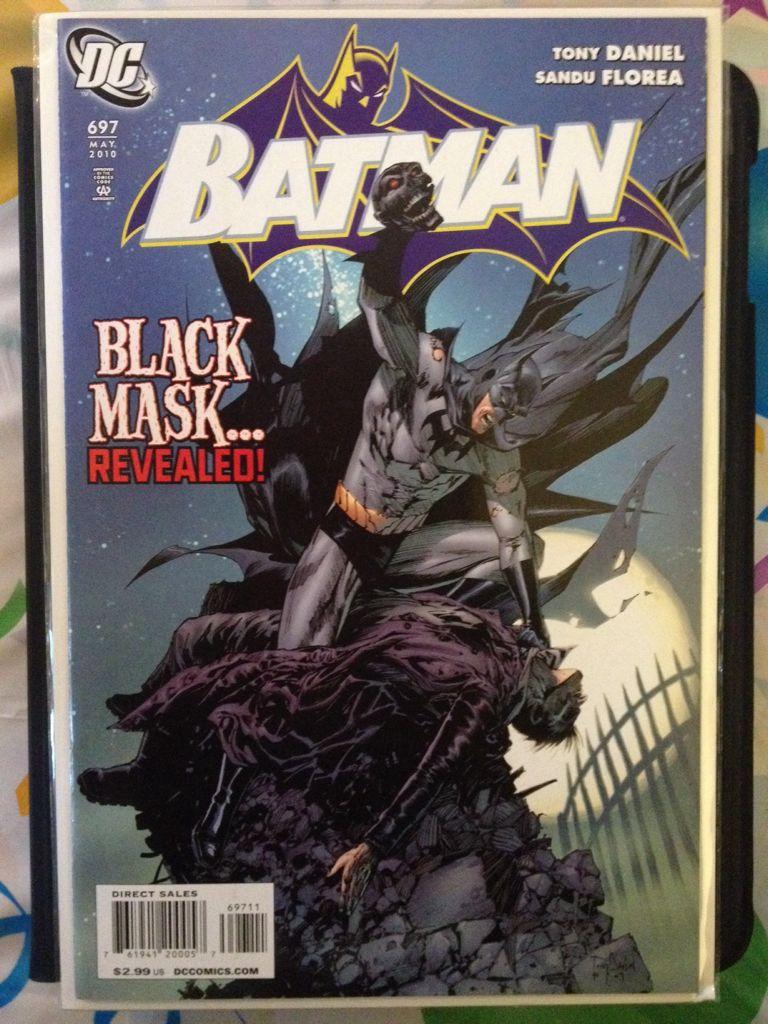 Batman - 697 cover