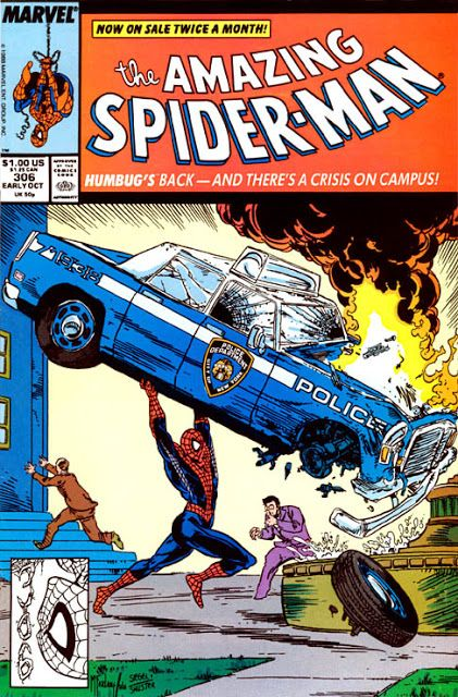 The Amazing Spider-man - 306 cover