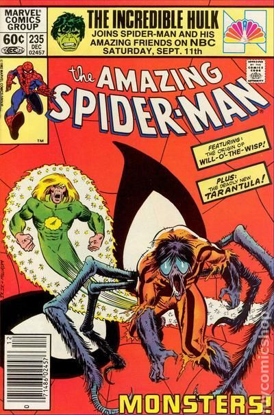 The Amazing Spider-man - 235 cover