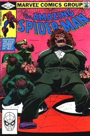 The Amazing Spider-man - 232 cover