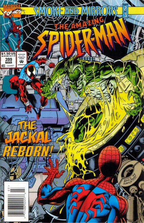 The Amazing Spider-man - 399 cover