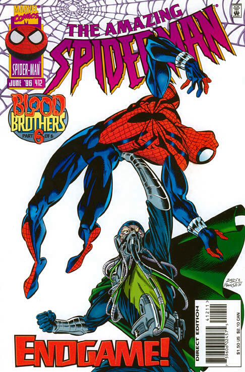 The Amazing Spider-man - 412 cover