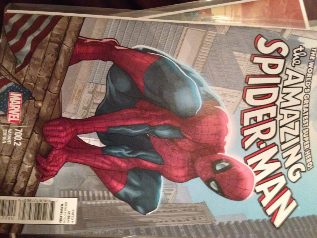 The Amazing Spider-man - 700.2 cover