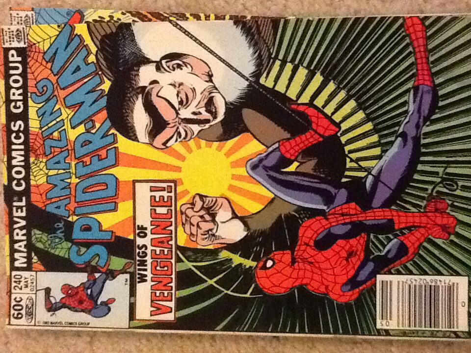 The Amazing Spider-man - 240 cover