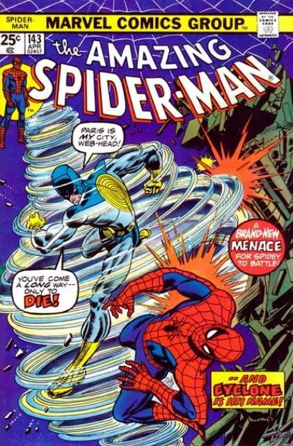 The Amazing Spider-man - 143 cover