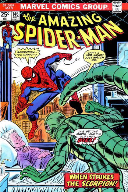 The Amazing Spider-man - 146 cover