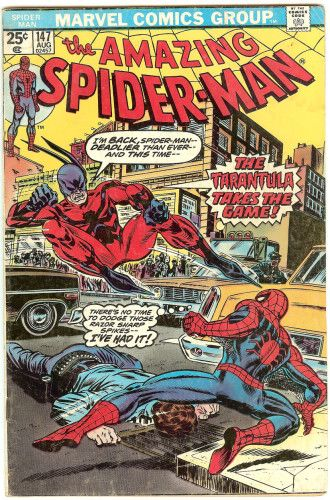 The Amazing Spider-man - 147 cover