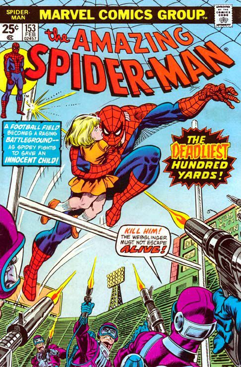 The Amazing Spider-man - 153 cover