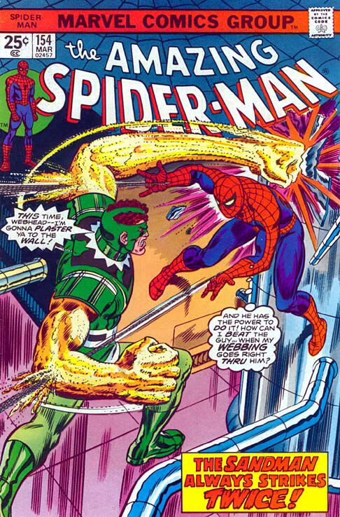 The Amazing Spider-man - 154 cover