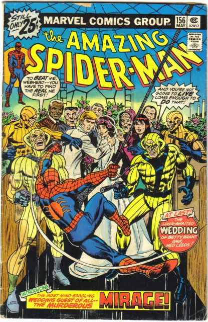 The Amazing Spider-man - 156 cover