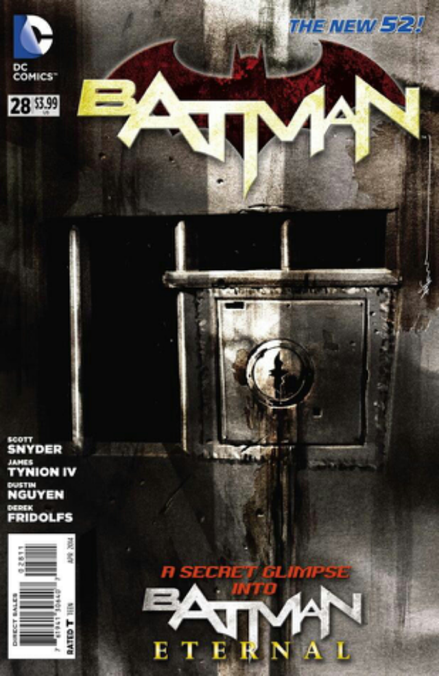 Batman (2011 2nd Series) - 28 cover