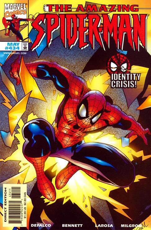 The Amazing Spider-man - 434 cover