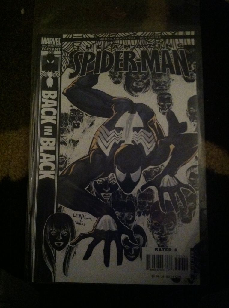 The Amazing Spider-man - 539 cover