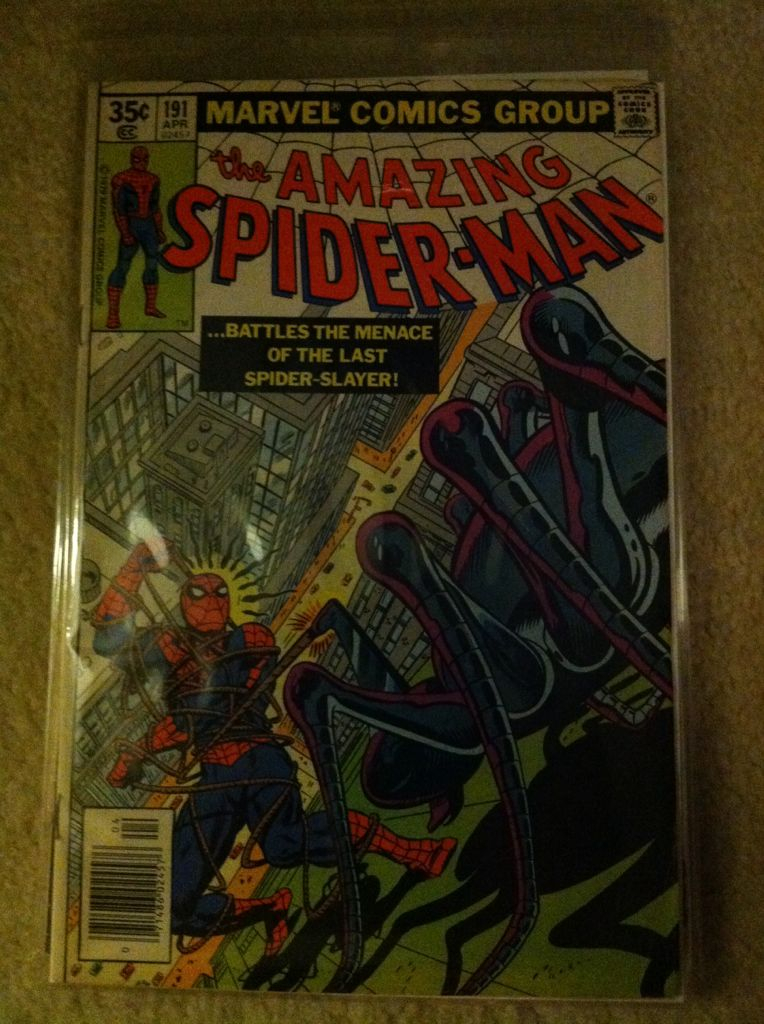 The Amazing Spider-man - 191 cover