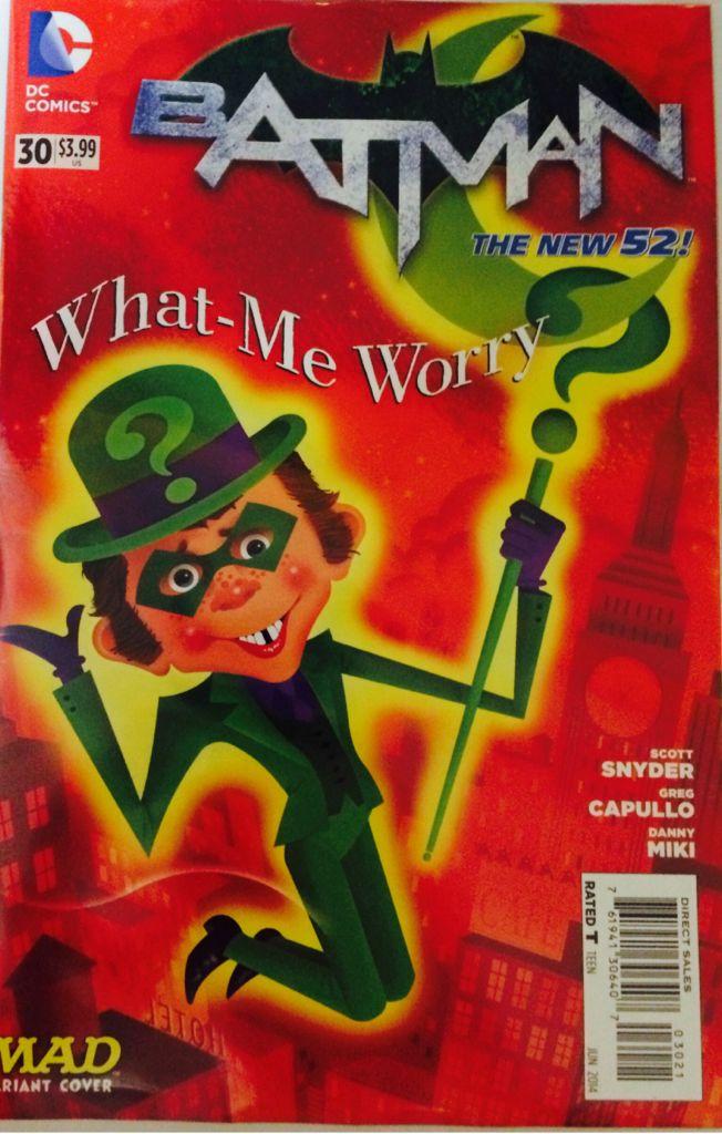 Batman - 355 cover