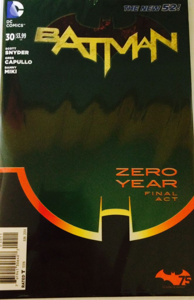 Batman - 357 cover