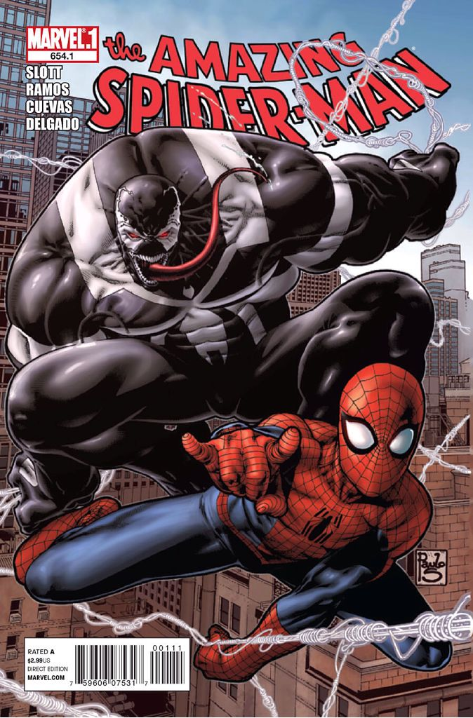 The Amazing Spider-man - 654.1 cover