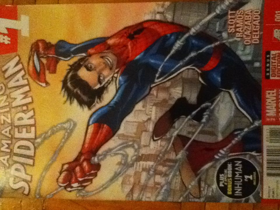 The Amazing Spider-man - 1 cover