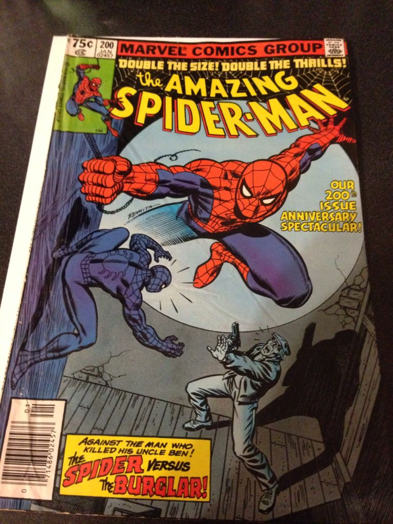 The Amazing Spider-man - 200 cover