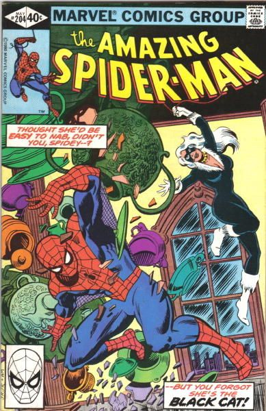The Amazing Spider-man - 204 cover