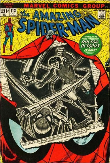 The Amazing Spider-man - 113 cover