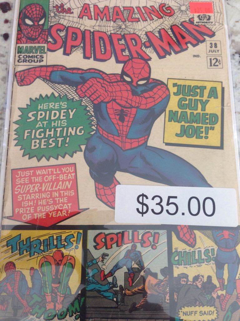 The Amazing Spider-man - 38 cover