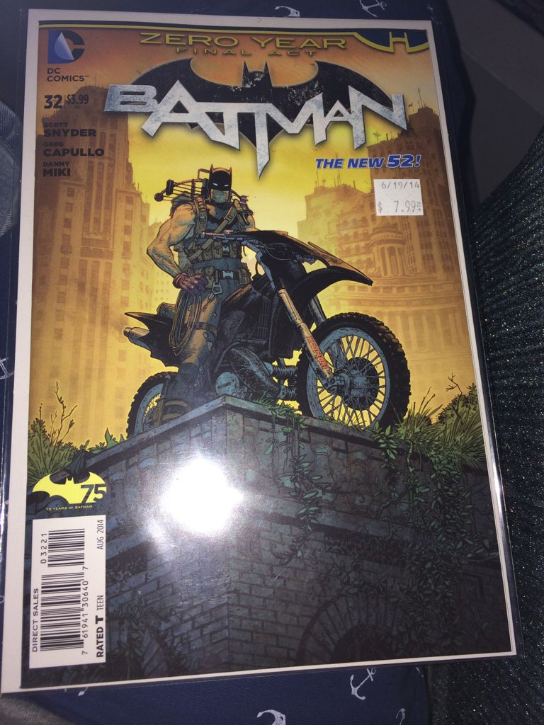 Batman - 32 cover