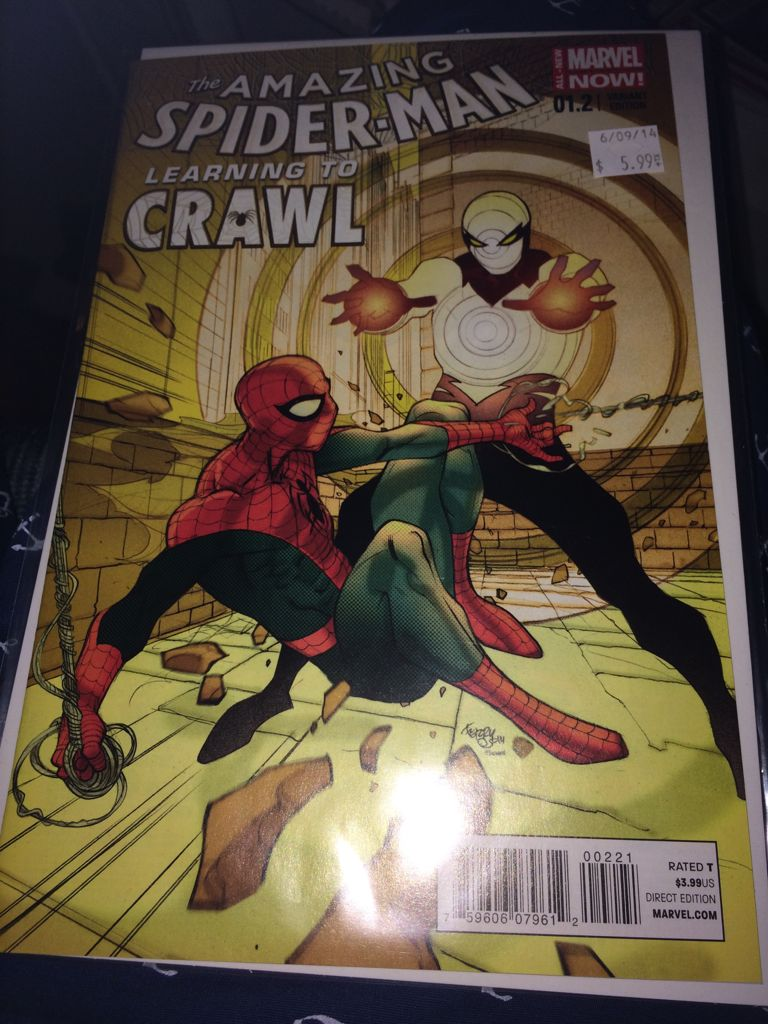 The Amazing Spider-man - 1.2 cover