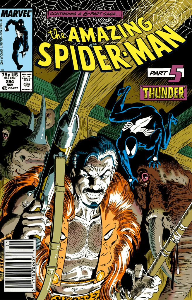 The Amazing Spider-man - 294 cover