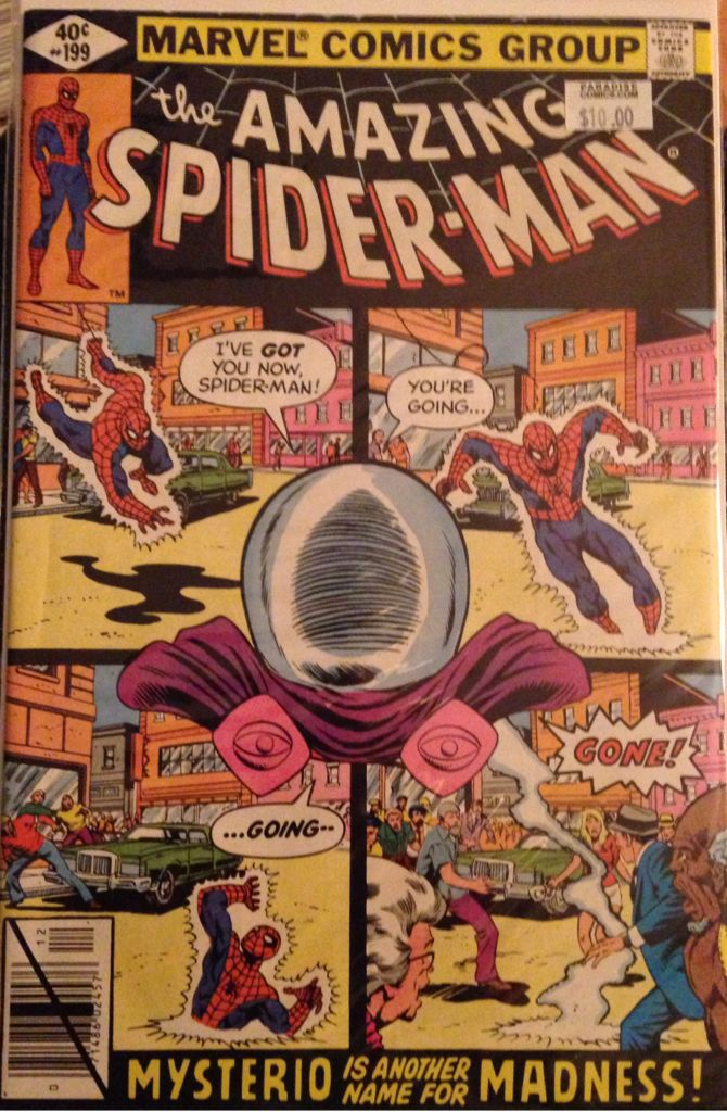 The Amazing Spider-man - 199 cover