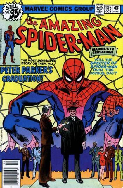 The Amazing Spider-man - 185 cover