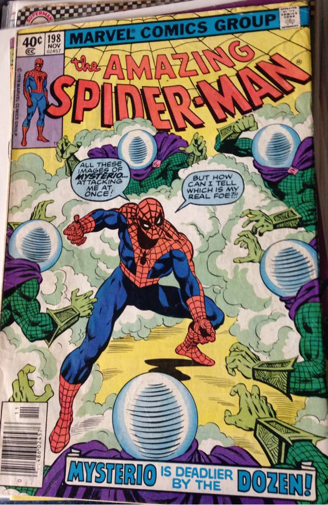 The Amazing Spider-man - 198 cover