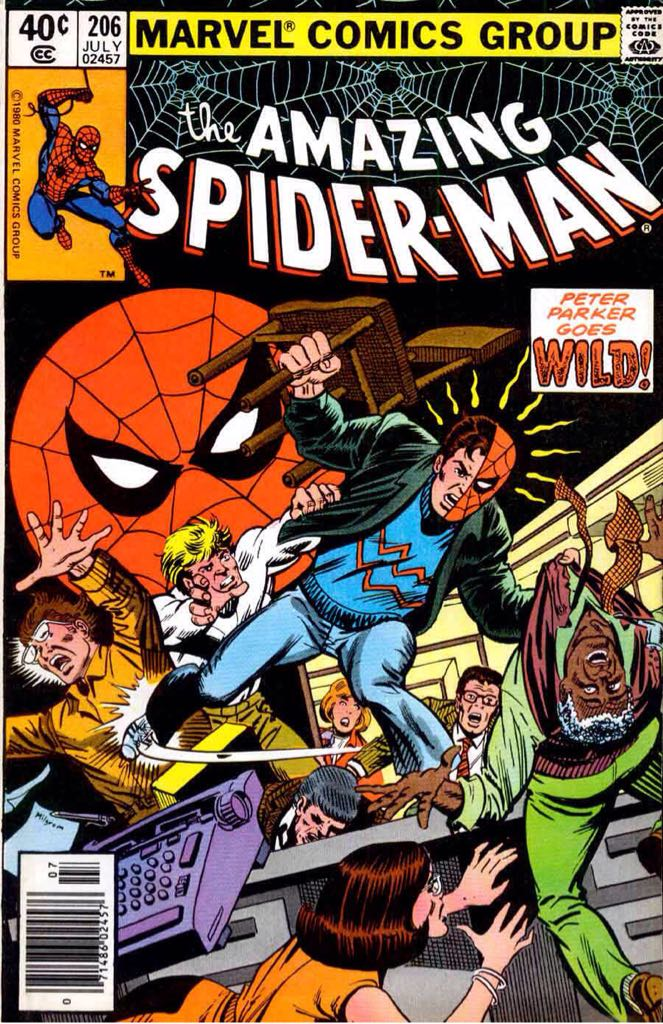 The Amazing Spider-man - 206 cover