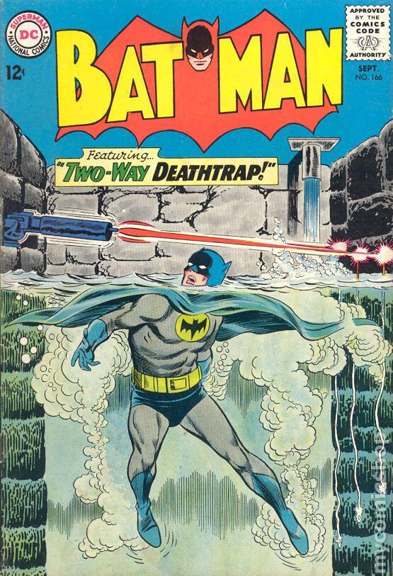 Batman - 166 cover