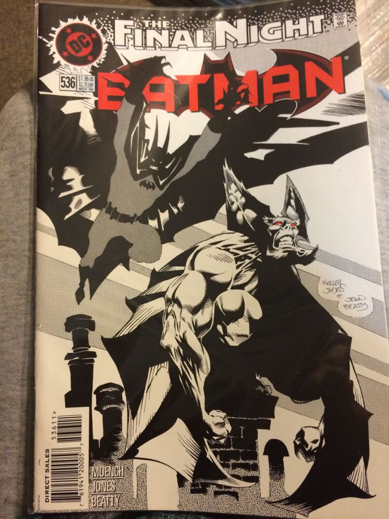 Batman - 536 cover