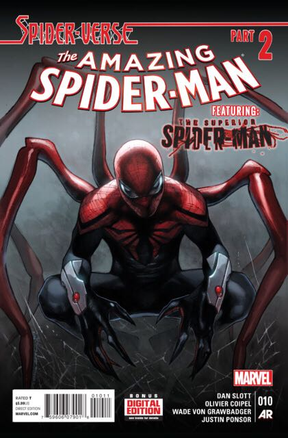 The Amazing Spider-man - 10 cover