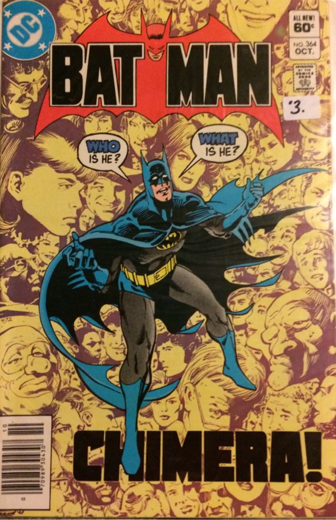 Batman - 364 cover
