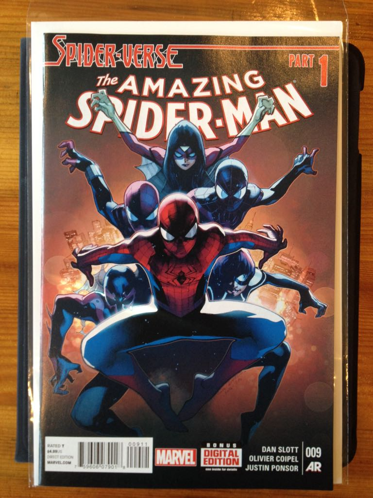 The Amazing Spider-man - 9 cover