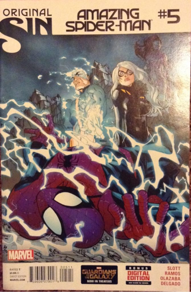 The Amazing Spider-man - 5 cover