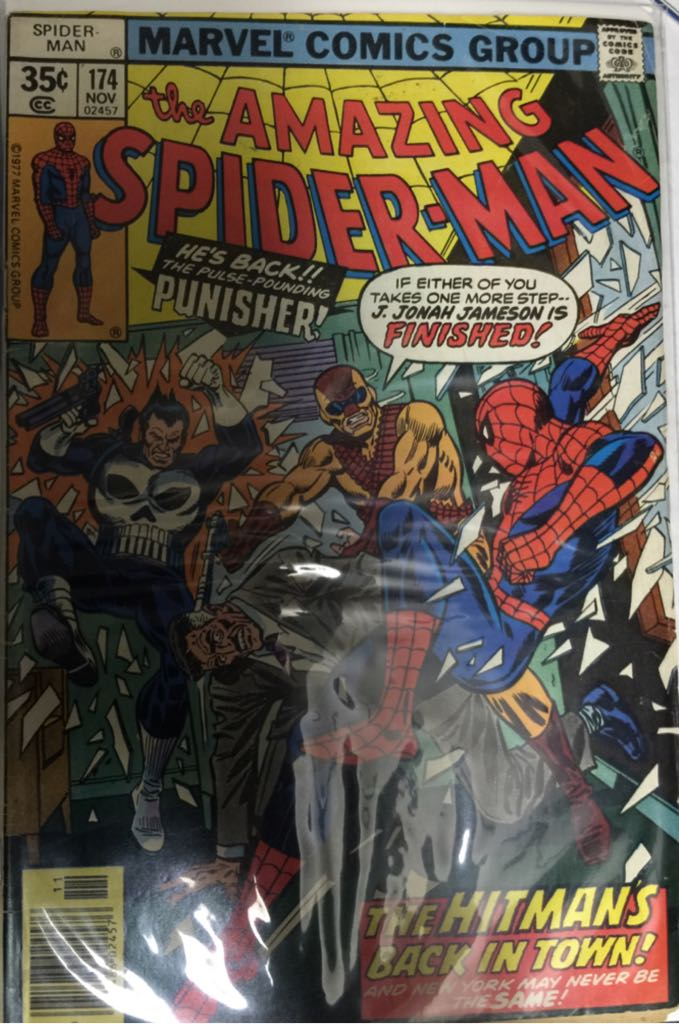 The Amazing Spider-man - 174 cover